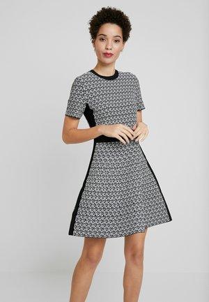 CERRA - Jumper dress - cube black