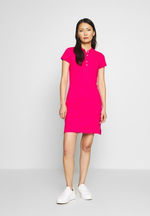 SLIM POLO DRESS - Day dress - bright jewel