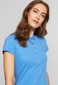 Tommy Hilfiger - SLIM POLO DRESS - Sukienka letnia - copenhagen blue - 4