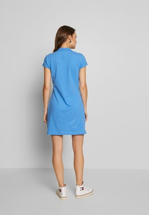 SLIM POLO DRESS - Day dress - copenhagen blue