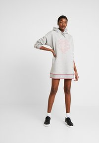 Tommy Hilfiger - PERRY HOODED DRESS - Day dress - light grey heather - 1