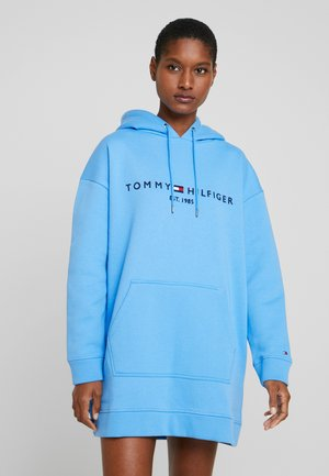 HOODED DRESS - Vestido informal - copenhagen blue