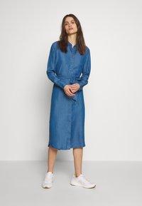Tommy Hilfiger - SHIRT DRESS RUTH - Shirt dress - blue - 2