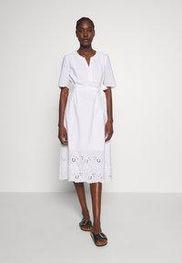 Tommy Hilfiger - PIEN DRESS - Sukienka letnia - white - 0