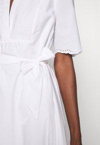 Tommy Hilfiger - PIEN DRESS - Sukienka letnia - white - 6