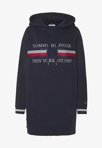 Tommy Hilfiger - ICON HOODED DRESS - Robe d'été - desert sky - 5