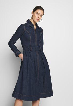 DRESS UTA - Jeansklänning - dark blue