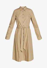 Tommy Hilfiger - LEA DRESS  - Košilové šaty - beige - 4