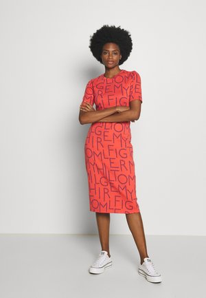 ALICIA - Korte jurk - red