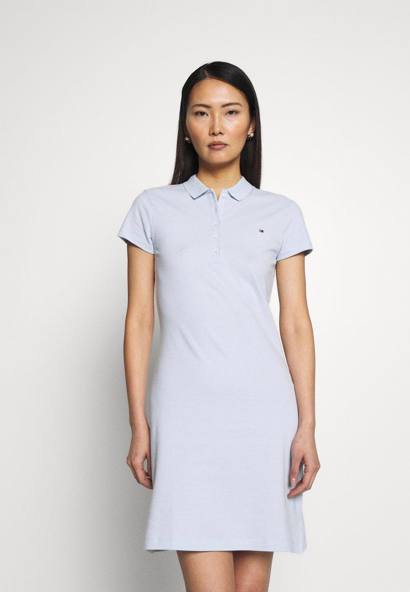Tommy Hilfiger - SLIM DRESS - Vestido informal - breezy blue