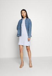Tommy Hilfiger - SLIM DRESS - Vestido informal - breezy blue - 1