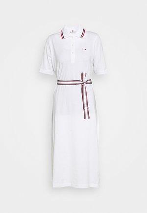 BRENNA DRESS - Vestito di maglina - white