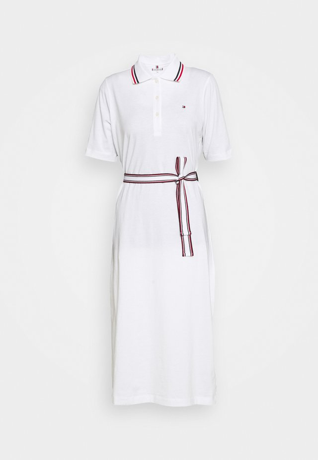 BRENNA DRESS - Jerseyjurk - white