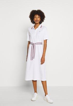BRENNA DRESS - Sukienka z dżerseju - white