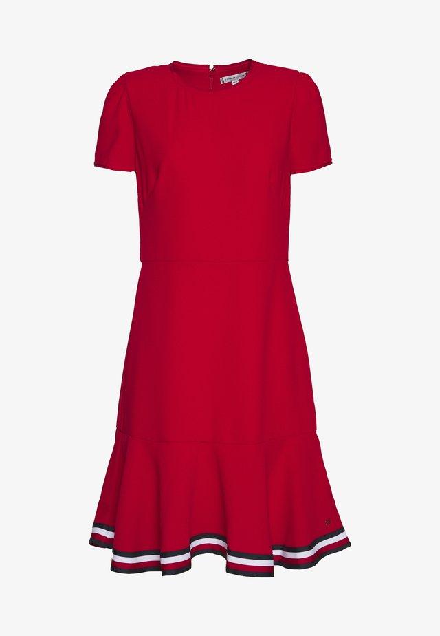 SKATER DRESS - Vestido informal - primary red