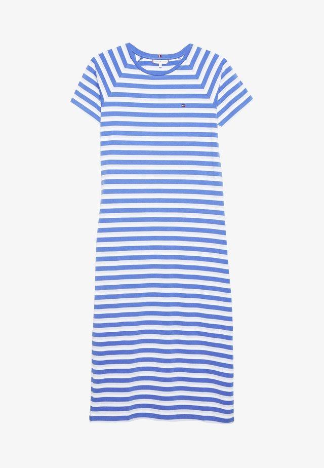 BONITA SLIM DRESS - Jerseyjurk - ombre/iris blue