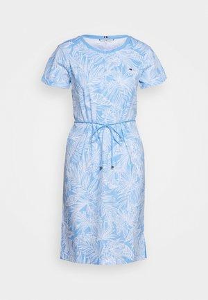 BELLE REGULAR DRESS - Jersey dress - light/iris blue