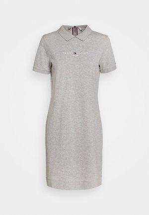 LOGO DRESS - Freizeitkleid - light grey