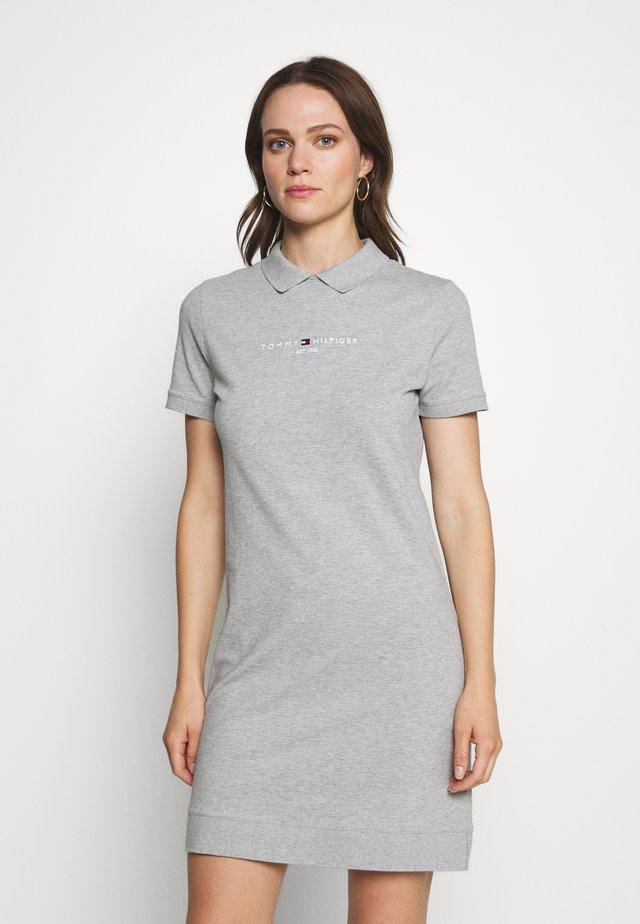 LOGO DRESS - Vestido informal - light grey