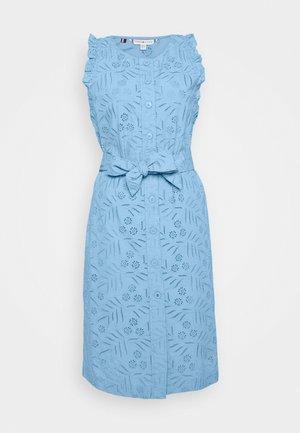 RUBI DRESS - Shirt dress - light iris blue
