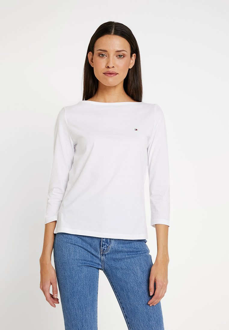 Tommy Hilfiger - TILLY BOAT 3/4  - Long sleeved top - classic white