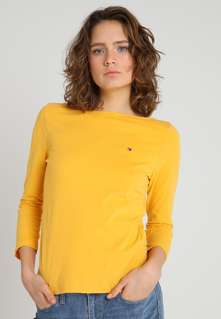 Tommy Hilfiger - TILLY BOAT 3/4  - Langarmshirt - yellow