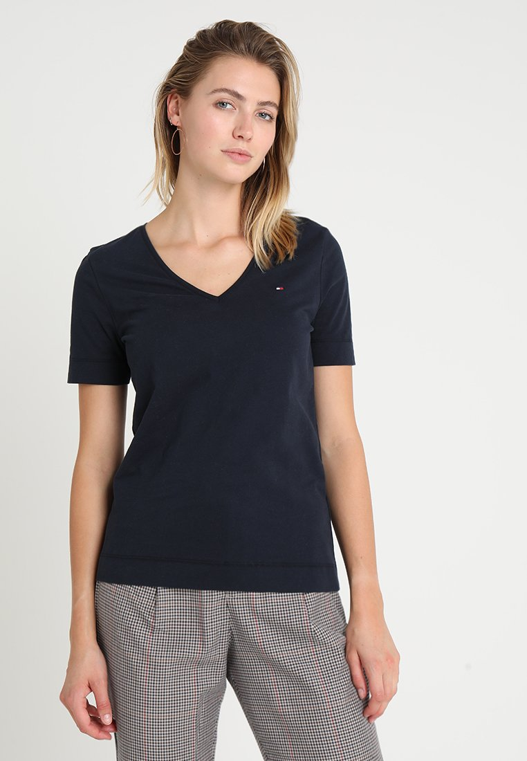 Tommy Hilfiger - LUCY  - T-shirts basic - blue