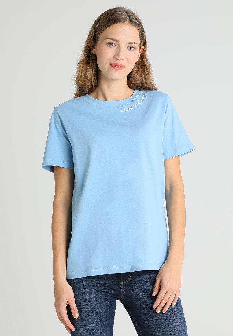 Tommy Hilfiger - HOLLI TEE - T-shirt imprimé - blue