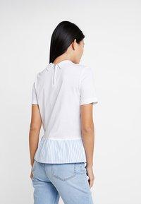Tommy Hilfiger - ELLE POLO - T-shirt imprimé - white - 2