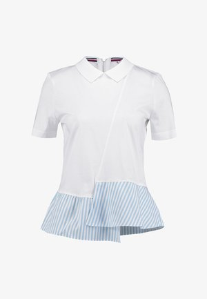 ELLE POLO - T-shirt imprimé - white