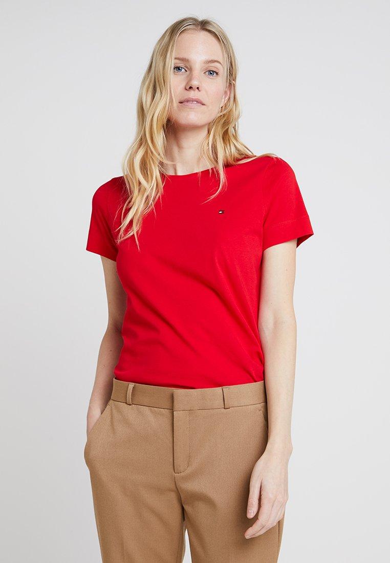 Tommy Hilfiger - TESSA TEE - T-Shirt basic - red