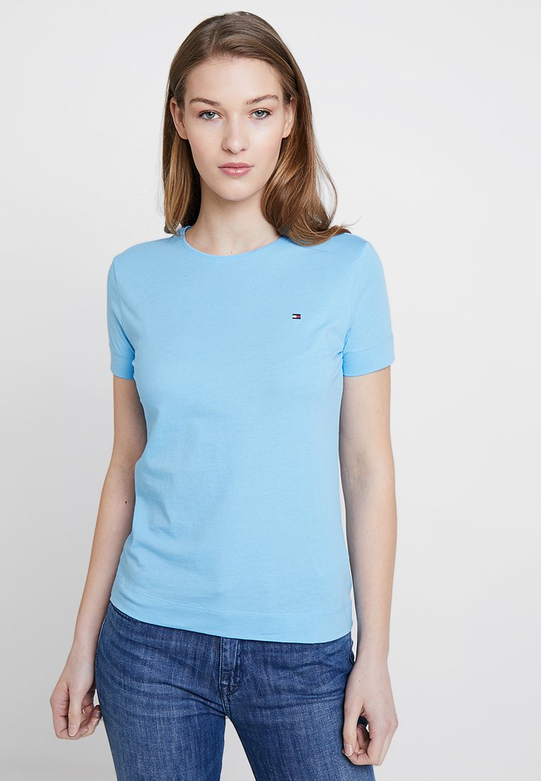 Tommy Hilfiger - TESSA TEE - T-Shirt basic - blue