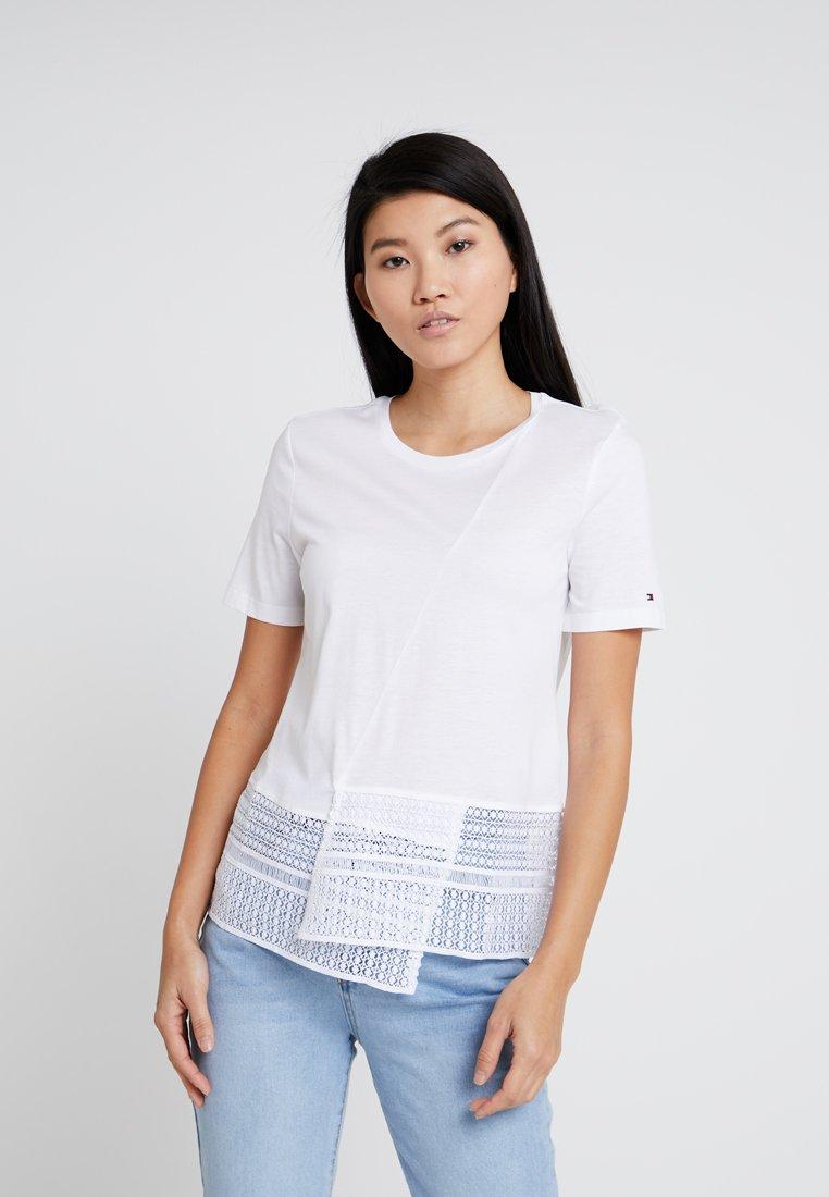Tommy Hilfiger - ELFIE - T-Shirt print - white