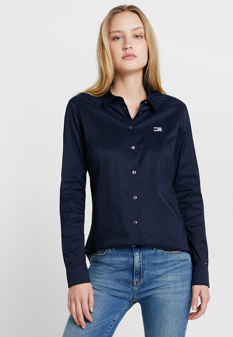 Tommy Hilfiger - FILIPA - Button-down blouse - blue