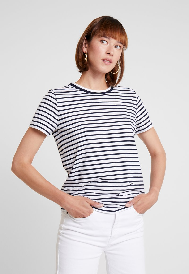 Tommy Hilfiger - ESSENTIAL RELAXED TEE - T-Shirt print - white