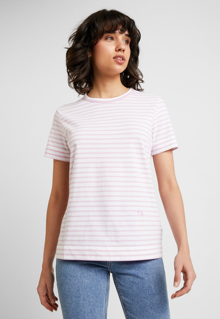 Tommy Hilfiger - ESSENTIAL RELAXED TEE - T-Shirt print - pink
