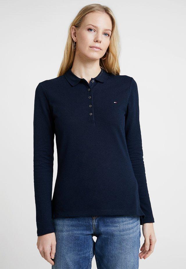 HERITAGE LONG SLEEVE SLIM  - Polo shirt - midnight