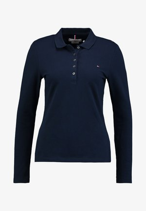 HERITAGE LONG SLEEVE SLIM  - Polo shirt - midnight