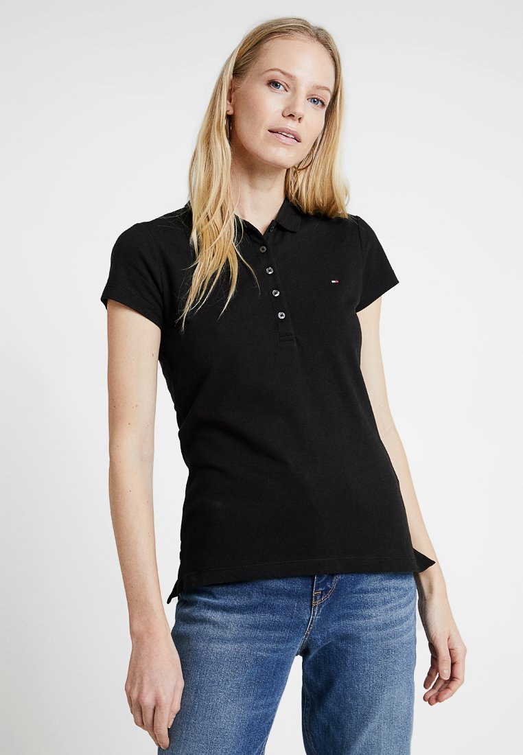 Tommy Hilfiger - HERITAGE SHORT SLEEVE - Polo - masters black