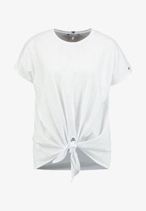 BRITT - T-shirt con stampa - white