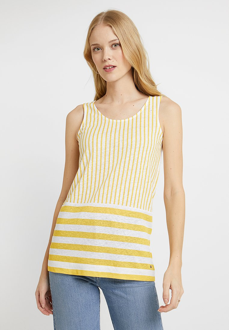 Tommy Hilfiger - BABS TANK - Toppi - yellow