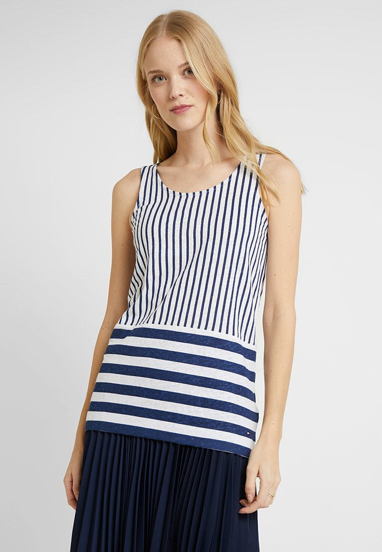 Tommy Hilfiger - BABS TANK - Top - blue