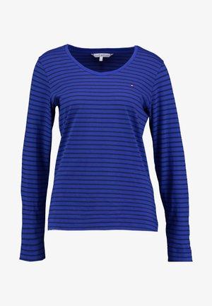 KAROLA SCOOP - T-shirt à manches longues - blue