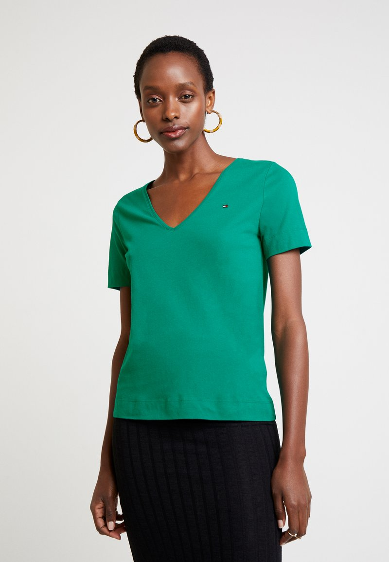 Tommy Hilfiger - NEW LUCY - T-shirt basique - green