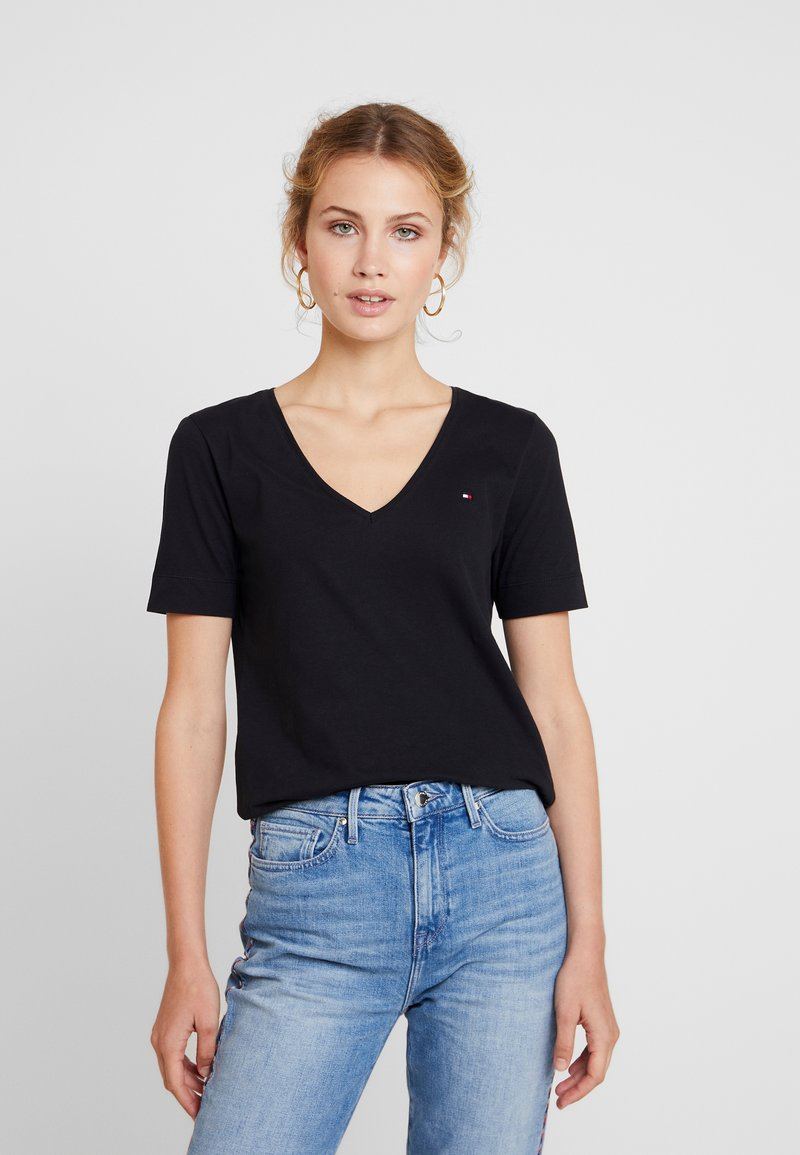 Tommy Hilfiger - NEW LUCY - T-shirt basic - black