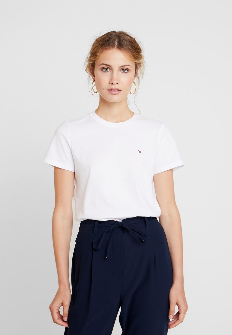Tommy Hilfiger - NEW LUCY - T-shirt med print - white