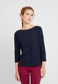 Tommy Hilfiger - NEW TILLY BOAT TEE - T-shirt à manches longues - blue - 0