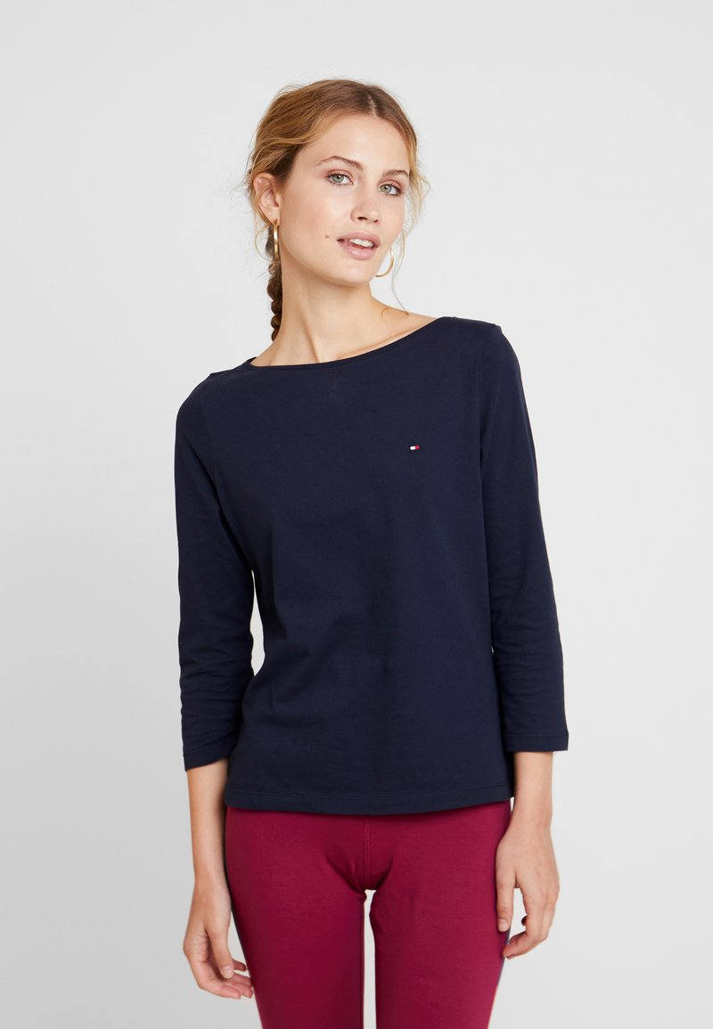 Tommy Hilfiger - NEW TILLY BOAT TEE - T-shirt à manches longues - blue