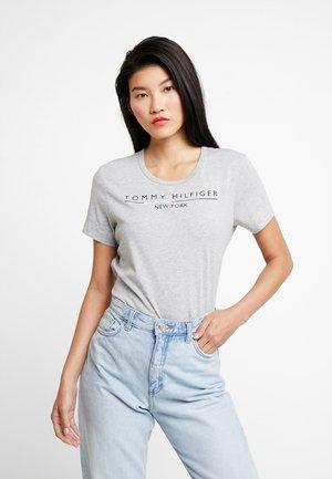CHRISTA TEE - T-shirts med print - grey