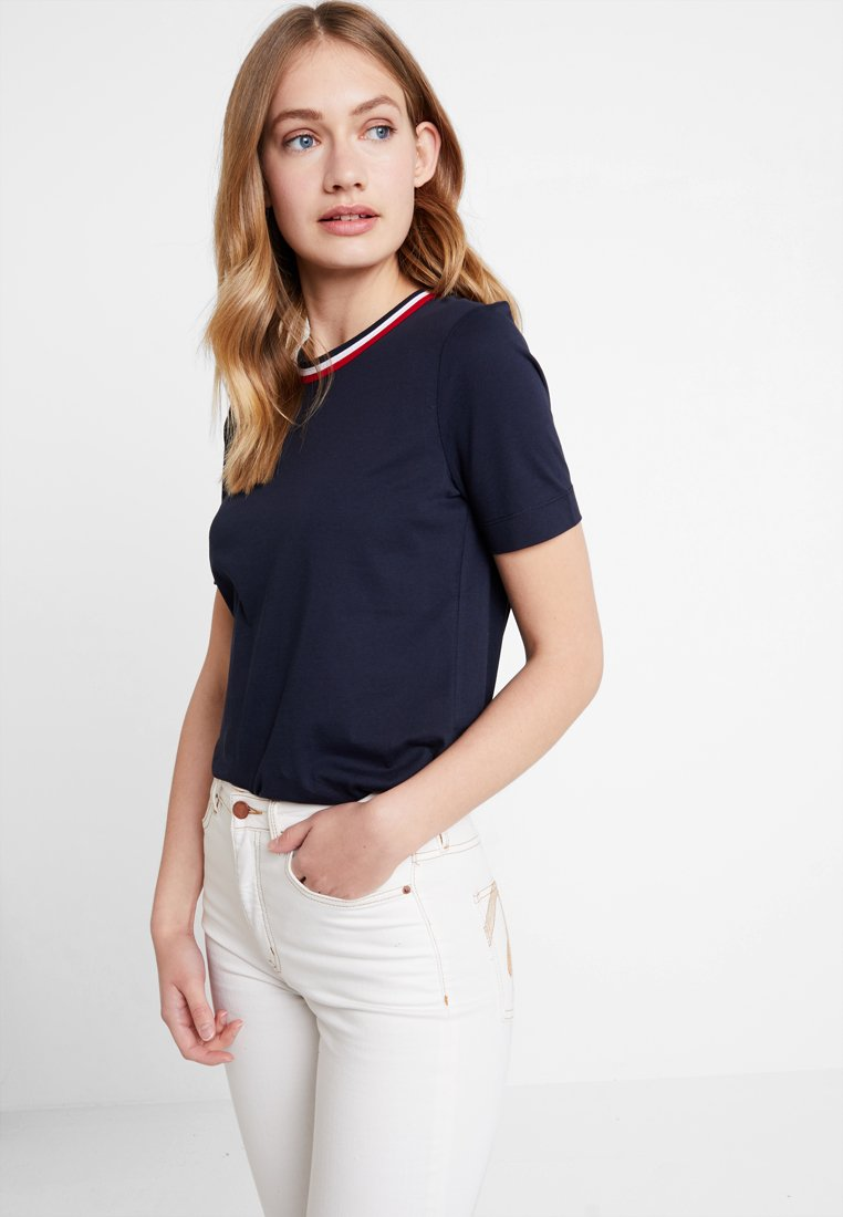 Tommy Hilfiger - ESSENTIAL - Camiseta estampada - blue